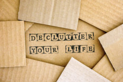 declutter your life illustration