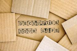 declutter your life illustration